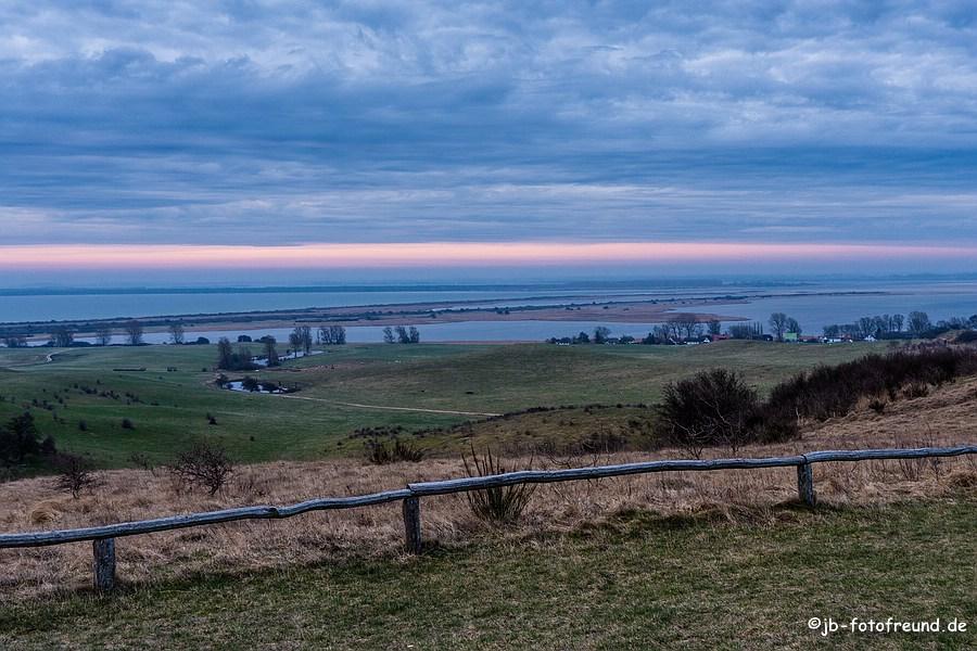 Landschaftsbild von der Insel Hiddensee