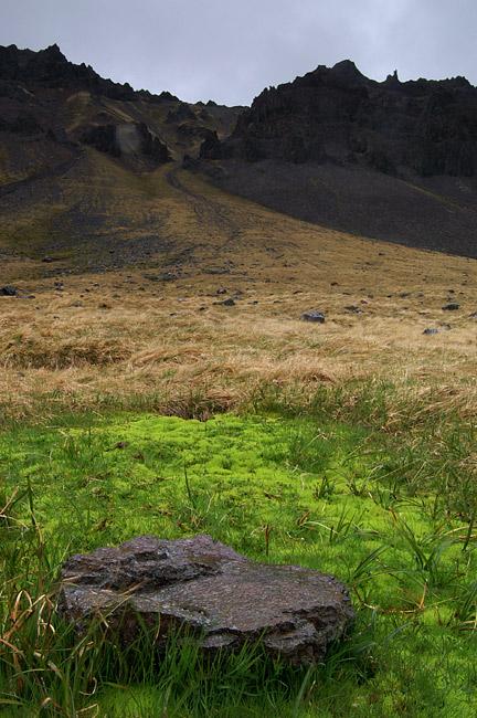 Landschaftsimpression von Strandir 001