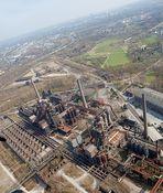 Landschaftspark Duisburg - Hubschrauber Rundflug - Luftbildfotografie