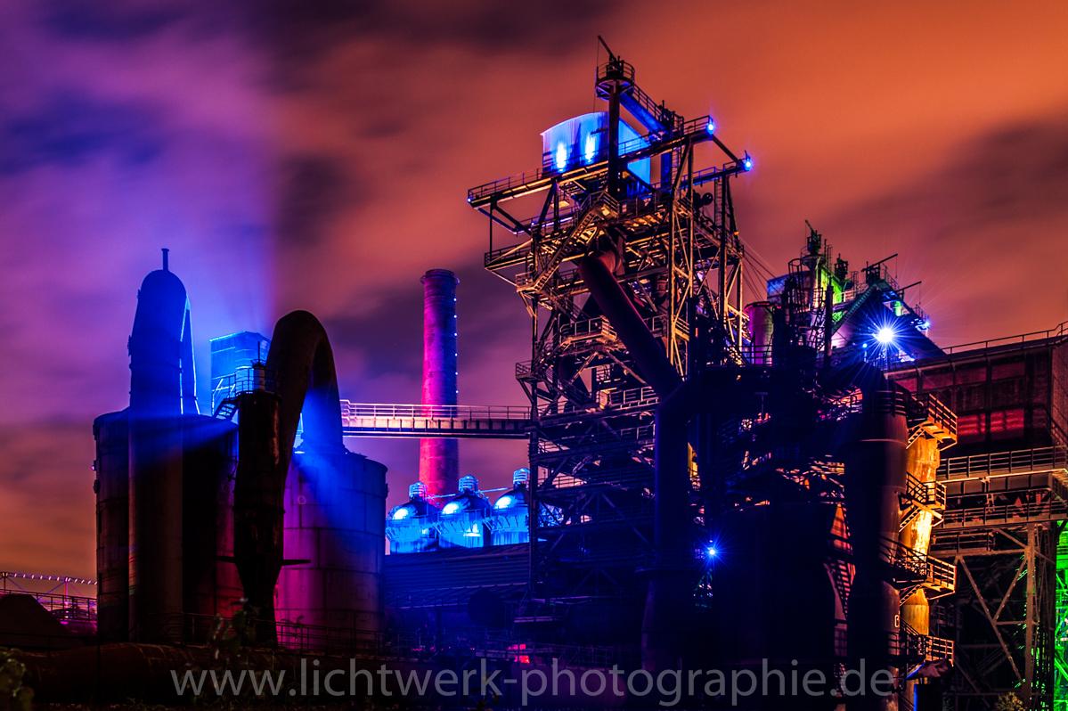 Landschaftspark Duisburg illuminiert 6
