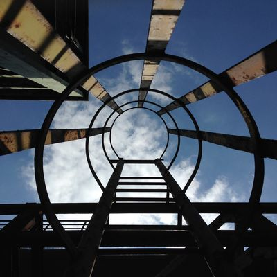 Landschaftspark Duisburg - Leiter zum Himmel