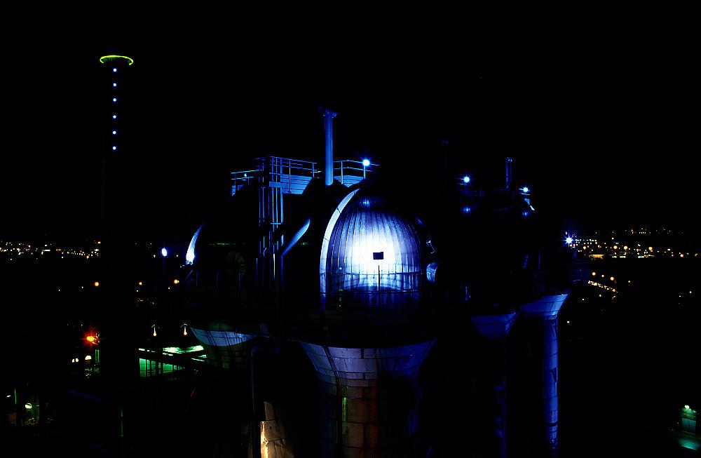 Landschaftspark Meiderich bei Nacht IV