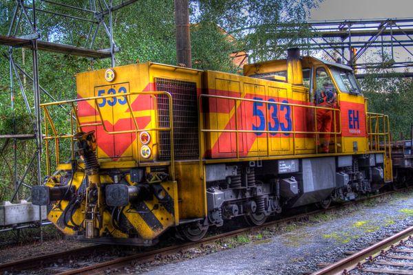 Landschaftspark Nord HDR Train Color
