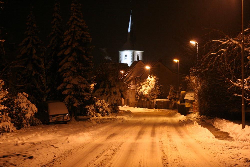 Landshausen im Winter