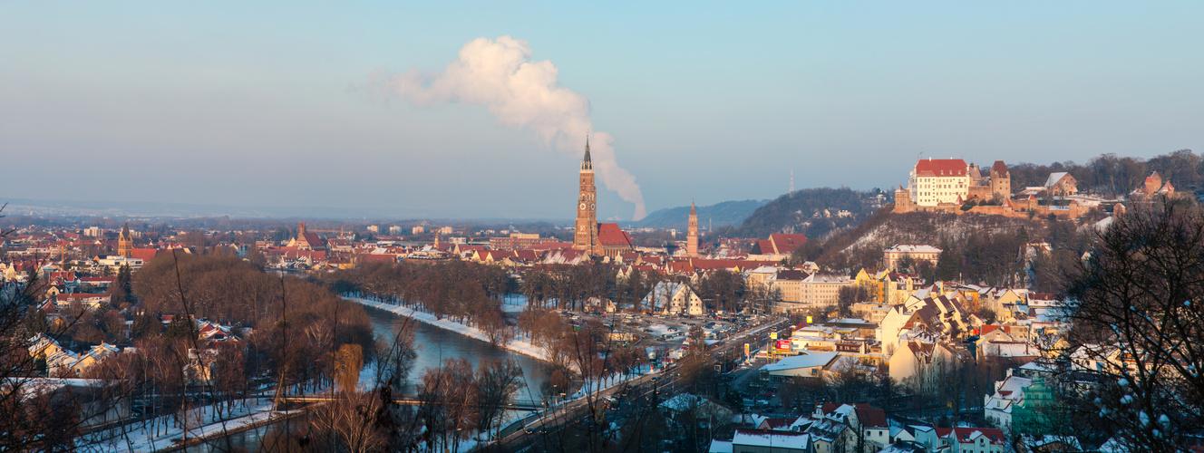 Landshut hätte eines der schönsten Stadtpanoramas Deutschlands....