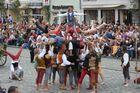 Landshuter Fürstenhochzeit 2013 - Menschenpyramide