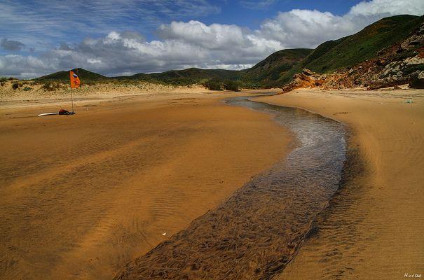 Landsicht am Amado Beach