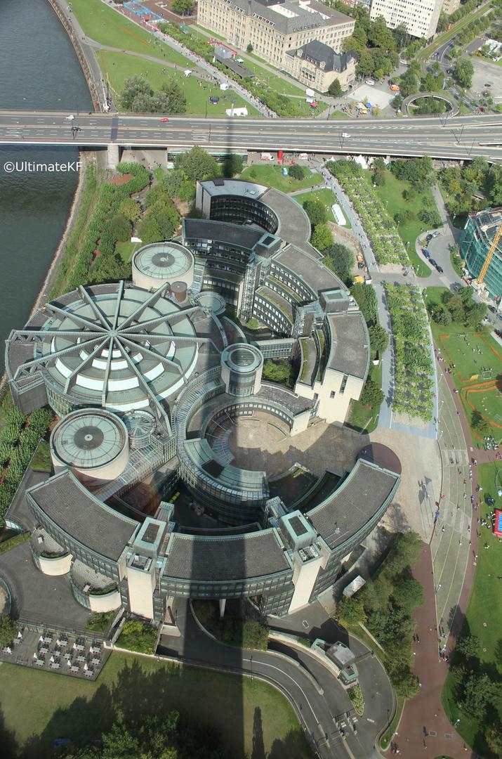Landtag von oben
