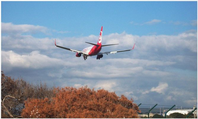 Landung auf PMI