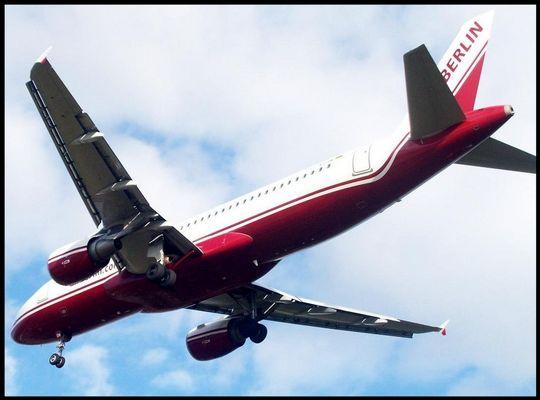 Landung einer Air Berlin