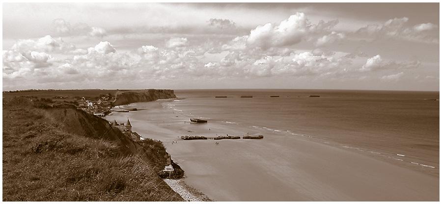 Landung in der Normandie