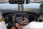 Landung in HAM auf der RWY 23