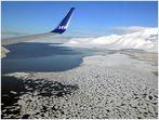 Landung in Longyearbyen- Svalbard