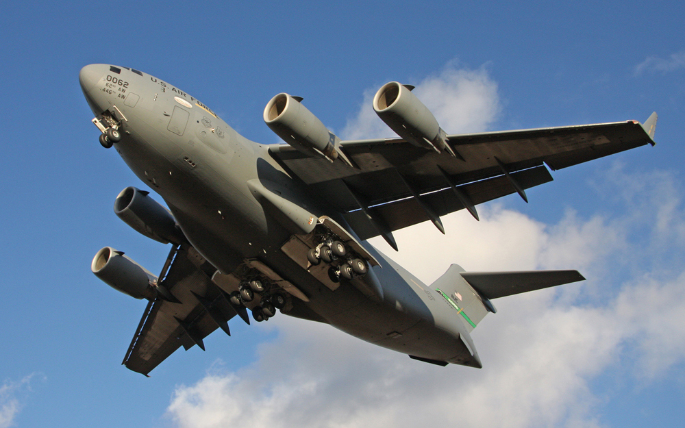 Landung Lockheed C17