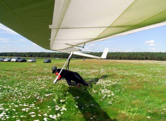 Landung mit dem IMPACT Starrflügel