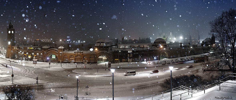Landungsbrücken --> Hamburg im Winter