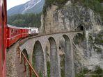 Landwasser-Viadukt, Rhätische Bahn, Graubünden