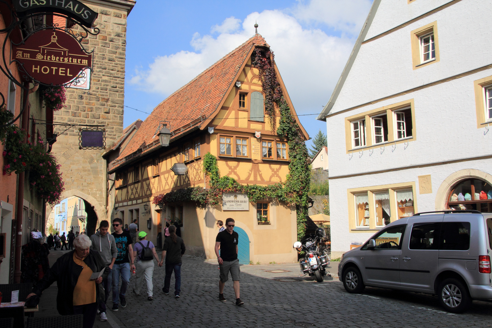 Landwehrbräu am Sieberstor in Rothenburg ob der Tauber