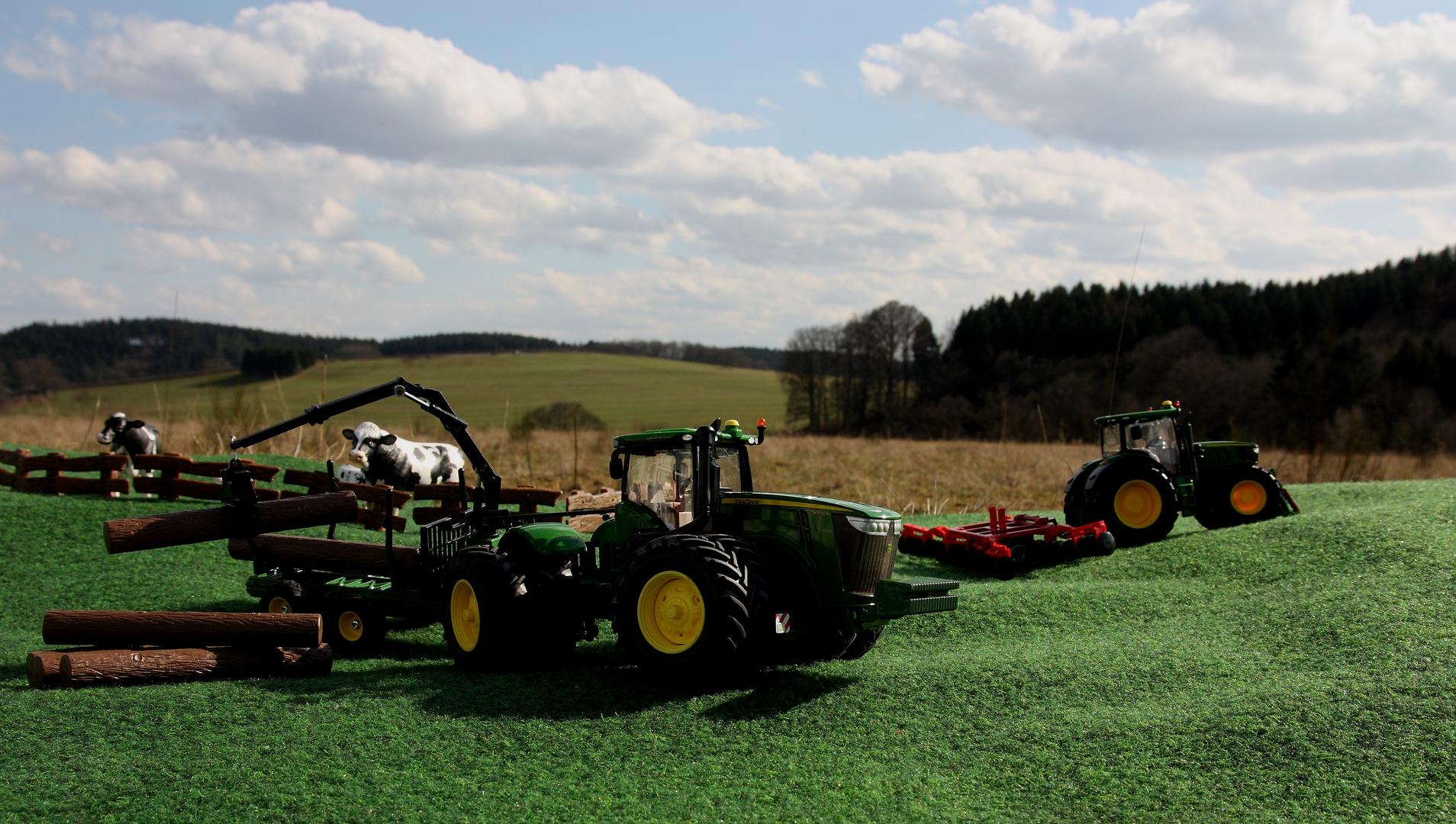 Landwirtschaft und Technik