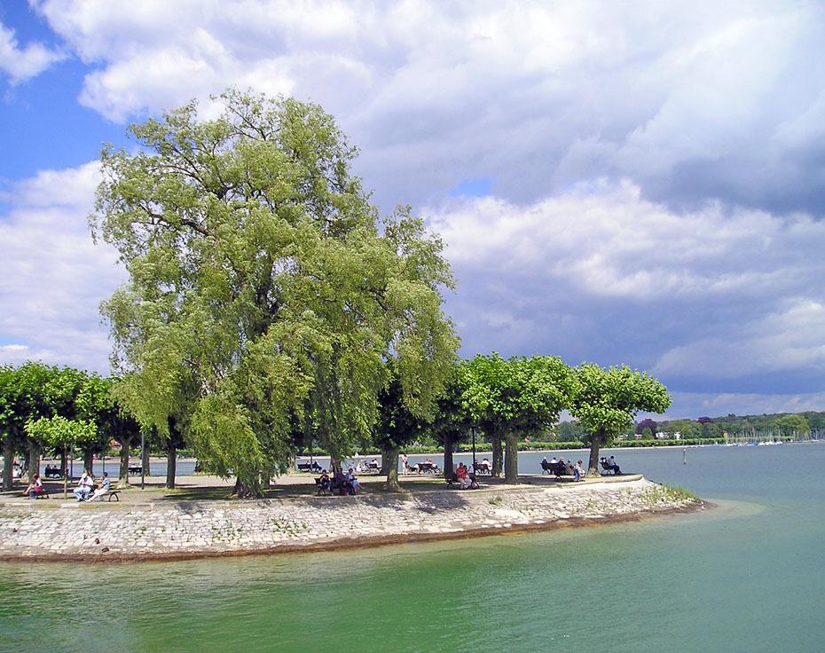 Landzunge bei Konstanz