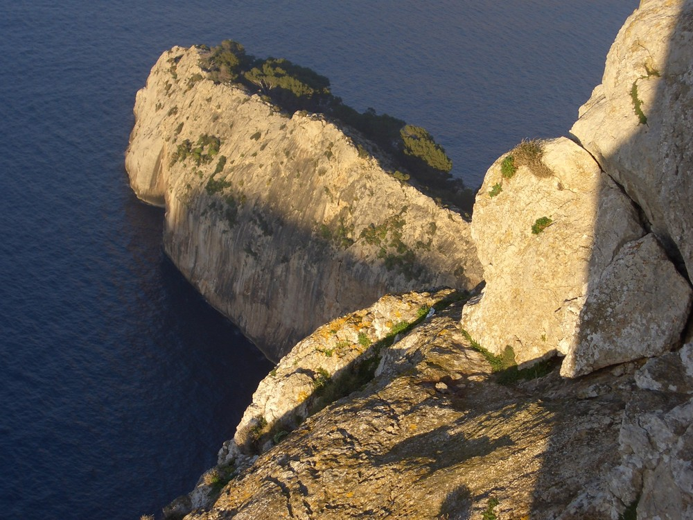Landzunge in der Abendsonne (Cap Formentor)
