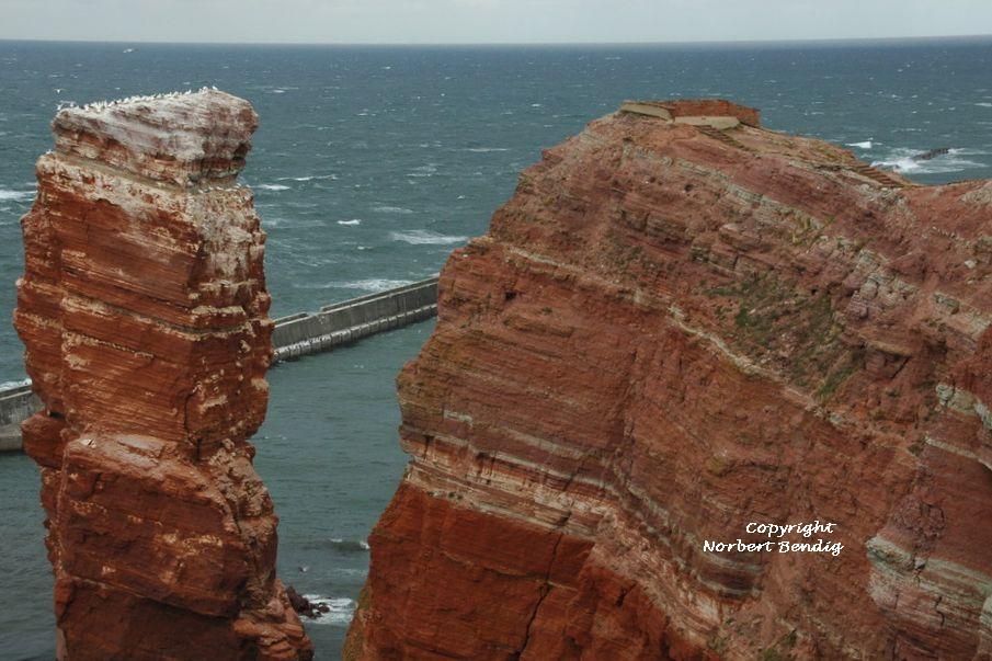 Lange Anna und der Felsen von Helgoland