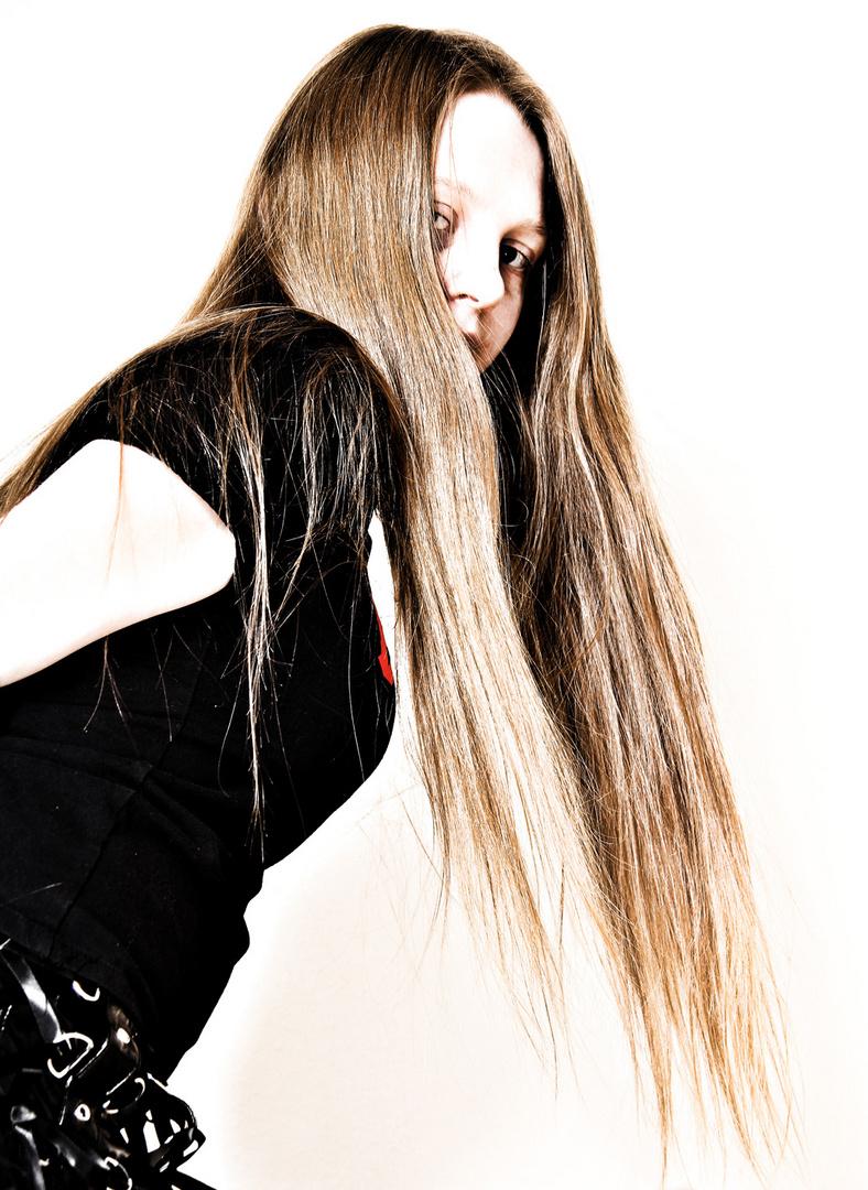 Lange Haare sind keine Mode, sondern eine Lebenseinstellung...