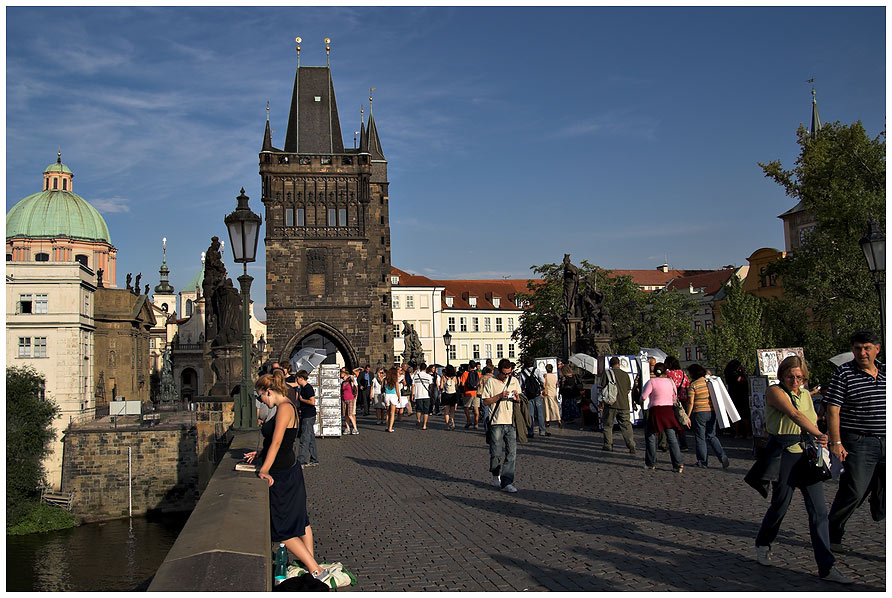 Lange Schatten - Karlsbrücke
