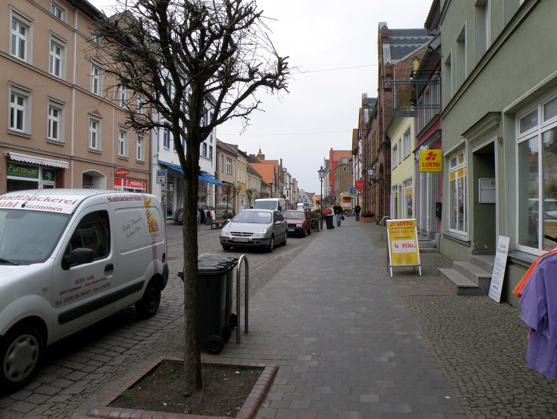Lange Straße in Barth