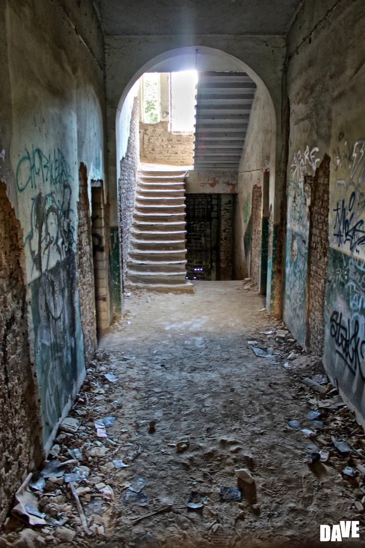 Lange verlassenes Herrenhaus