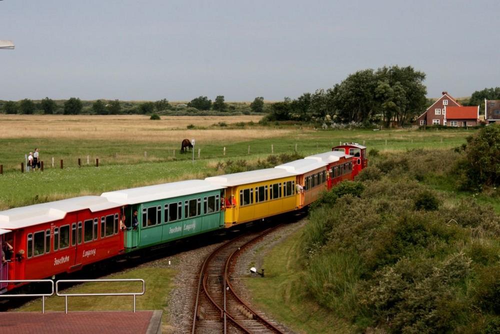 """Langeoog als """"Spielzeug-Landschaft"""""""