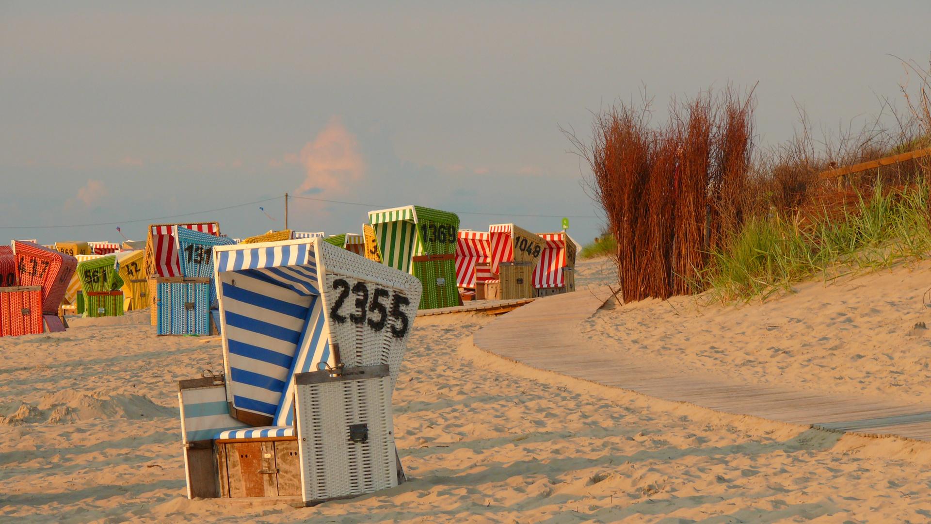 Langeoog - Strandkörbe