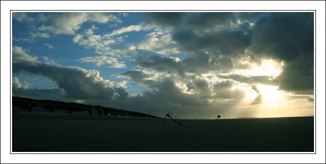 Langeooger Strand - es wird Abend
