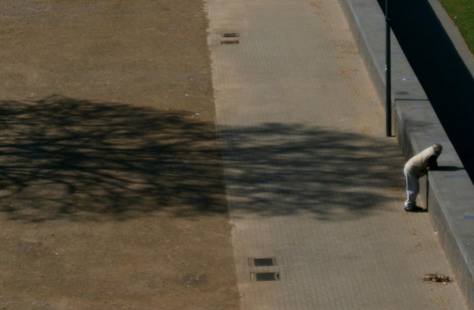 Langer Schatten