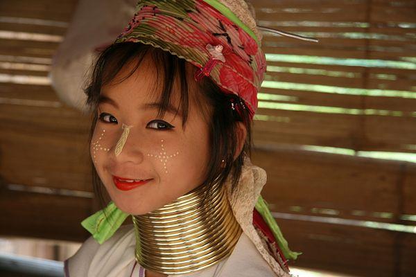 Langhals Karen Thailand