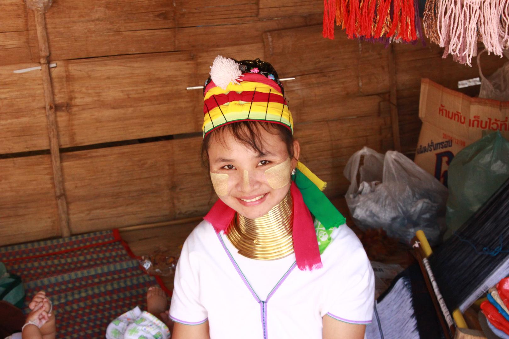 Langhalsfrau Thailand