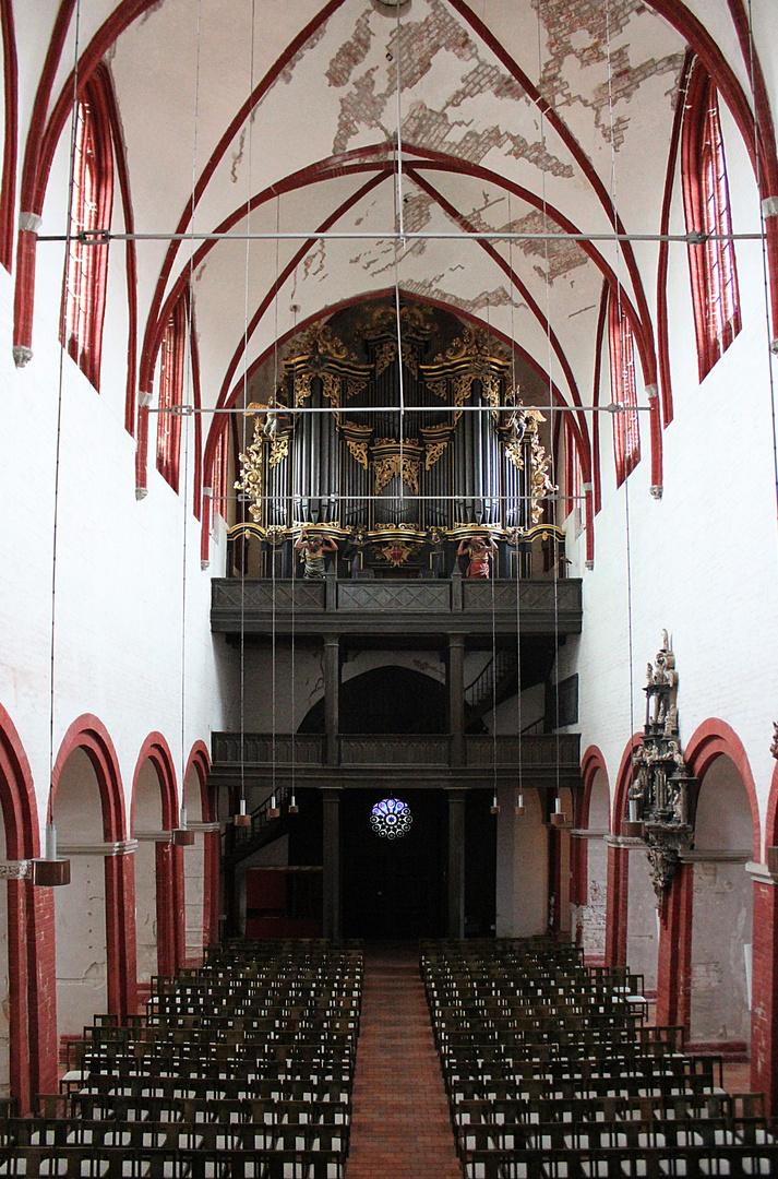 Langhaus des Domes St. Peter und Paul in Brandenburg