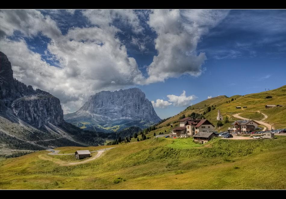 Langkofel - Gardena Pass