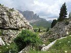 Langkofel Saslong Dolomiten Urlaub Berge