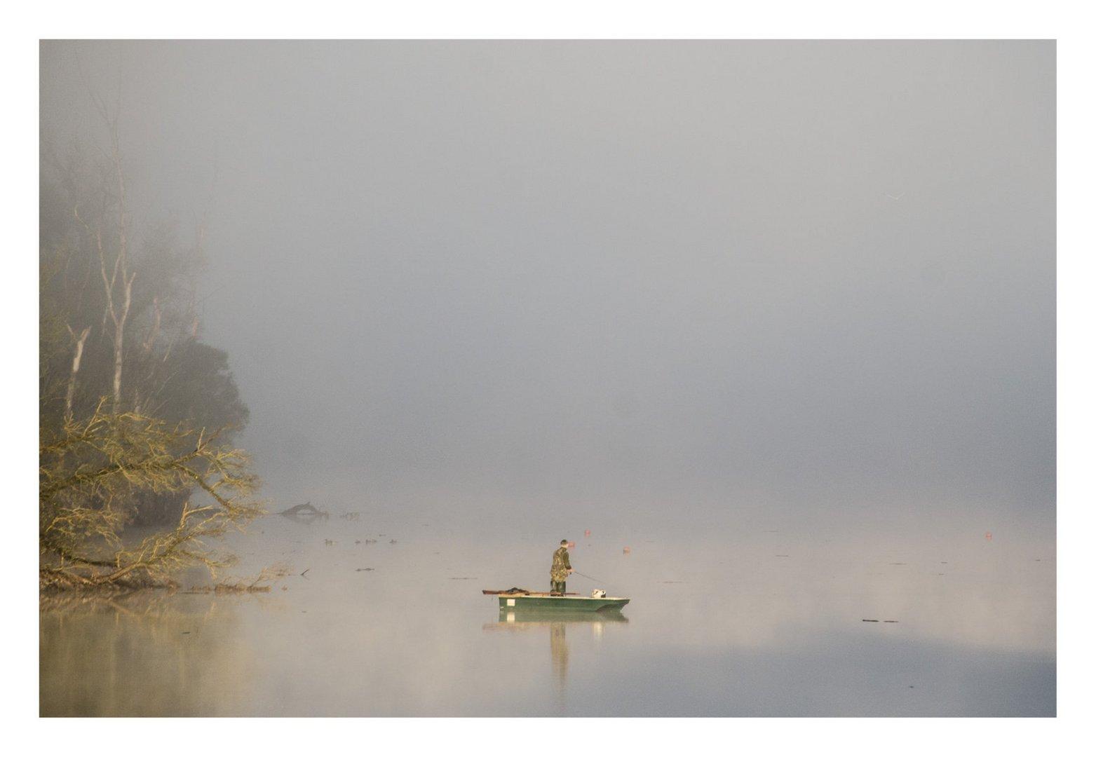 Langsam verschwindet der Nebel