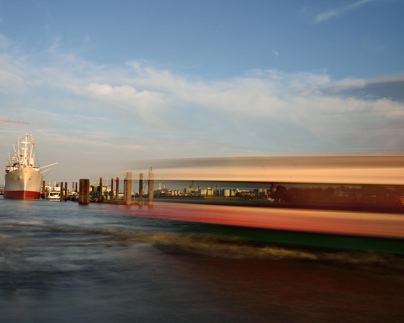 Langzeit HH Hafen; August 2013