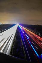 Langzeitbelichtung Autobahn - Ein Versuch