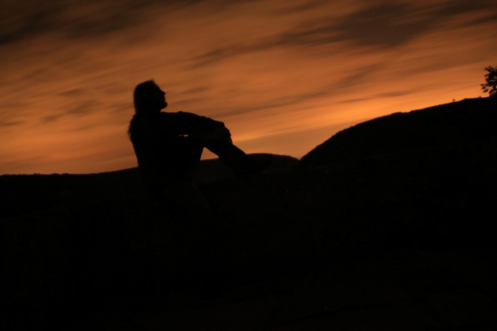 Langzeitbelichtung bei Nacht
