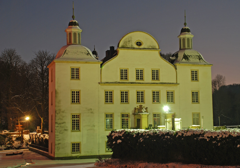 Langzeitbelichtung vom Schloss Borbeck