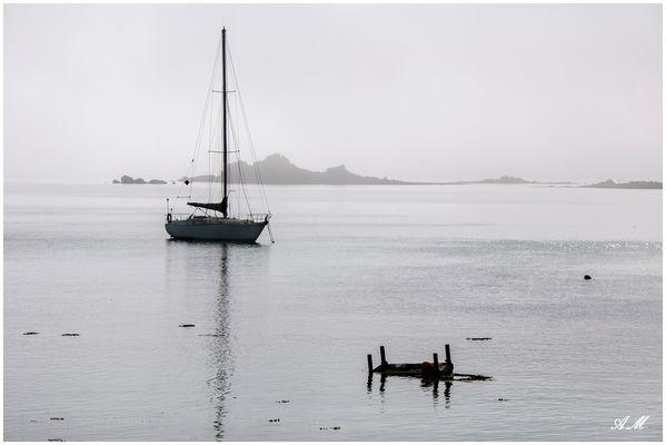 L'anse de Gouermel (côtes d'Armor-France)