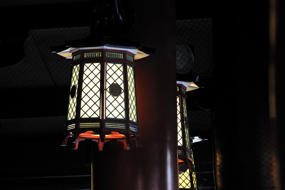 Lantern in Sensoji Temple Asakusa