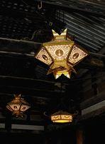 Lanterns in Kiyomizu-dera Temple