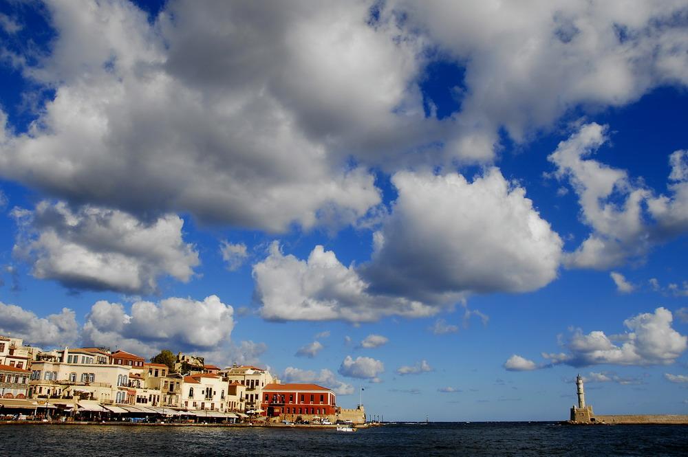 L'antico porto veneziano di Chania