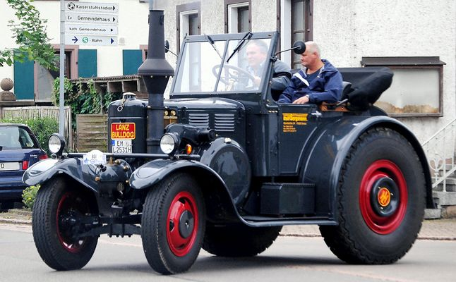 Lanz Bulldog: Das Sonntags - Cabriolet