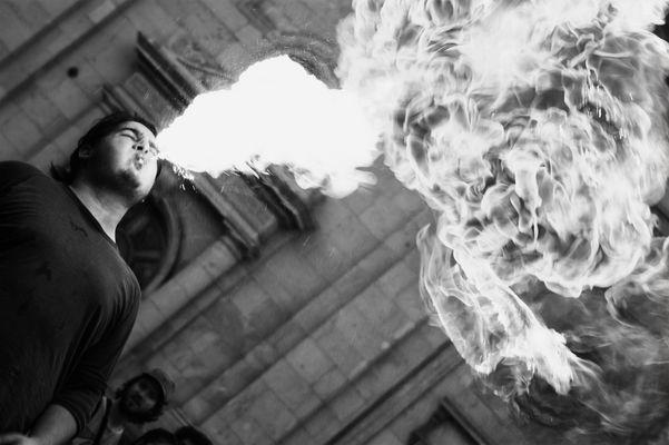 Lanza fuego